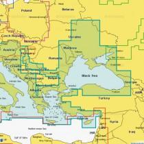 Карта Navionics Gold 43XG Днепр + Средиземное и Черное море