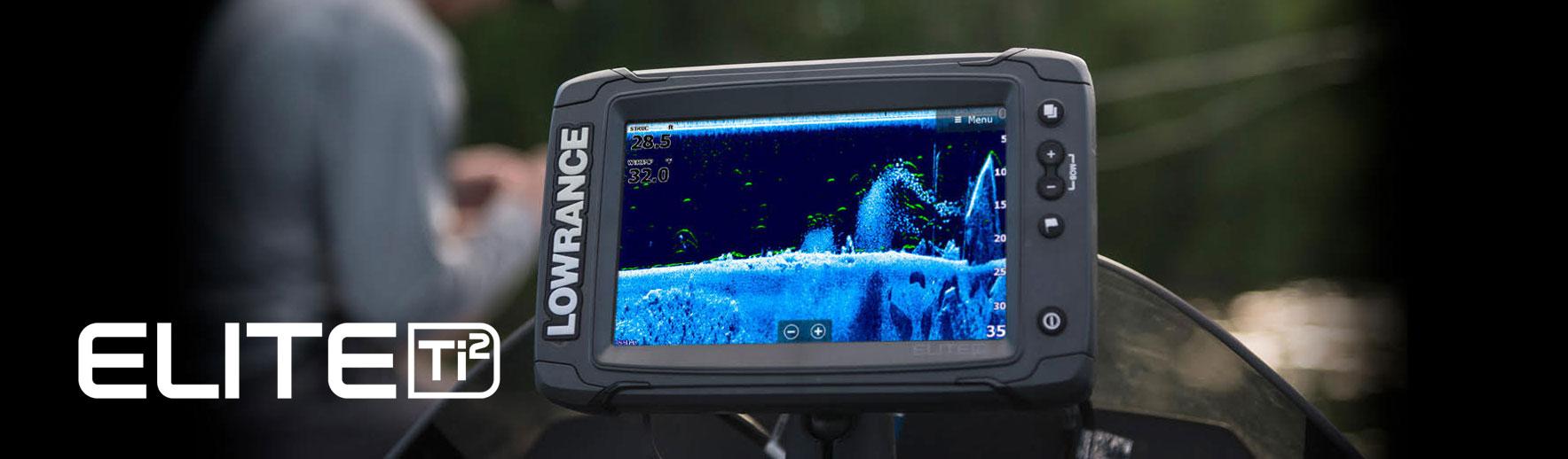 Серія ехолотів Elite Ti2 c Active Imaging у продажу у фірмовому магазині лоуренс