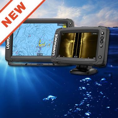Нові, багатофункціональні ехолоти / картплоттери Elite Ti2 з Active Imaging