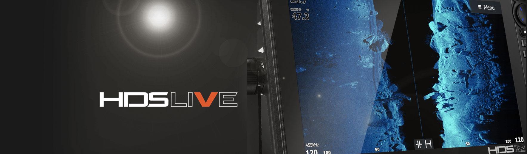 Інноваційні ехолоти HDS Live Active Imaging у фірмовому магазині лоуренс