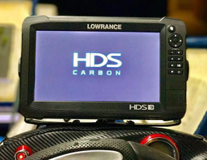 Ехолот/картплоттер Lowrance HDS-9 Carbon