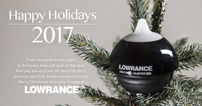 Lowrance вітає Вас з Новорічними святами