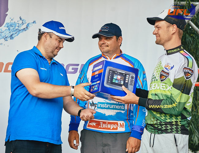 Другий етап Української рибальської ліги (UFL) 2017