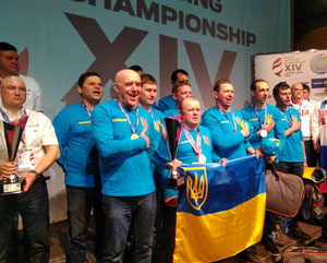 Збірна України по лову на мормишку одержала перемогу на 14 міждународному чемпіонаті